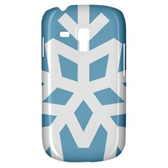 Snowflake Snow Flake White Winter Samsung Galaxy S3 Mini I8190 Hardshell Case