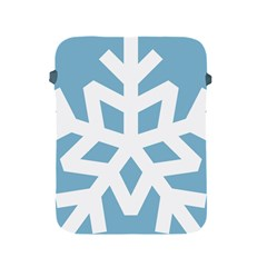 Snowflake Snow Flake White Winter Apple Ipad 2/3/4 Protective Soft Cases