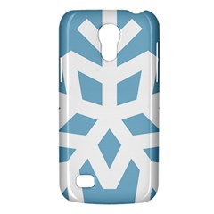 Snowflake Snow Flake White Winter Samsung Galaxy S4 Mini (gt I9190) Hardshell Case