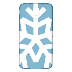 Snowflake Snow Flake White Winter Samsung Galaxy S5 Back Case (white)