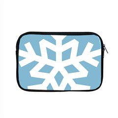 Snowflake Snow Flake White Winter Apple Macbook Pro 15  Zipper Case