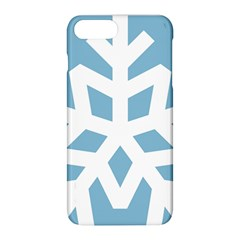 Snowflake Snow Flake White Winter Apple Iphone 8 Plus Hardshell Case