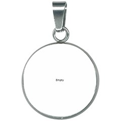 Window Contemporary 20mm Round Necklace