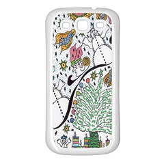 Sledscape Samsung Galaxy S3 Back Case (white)