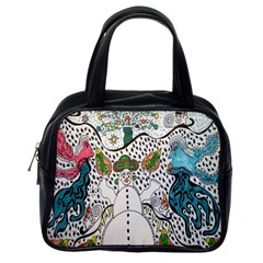 Happysnowman Classic Handbag (one Side)