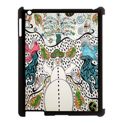 Happysnowman Apple Ipad 3/4 Case (black)