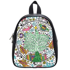 Snowglobe School Bag (small)