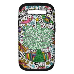 Snowglobe Samsung Galaxy S Iii Hardshell Case (pc+silicone)