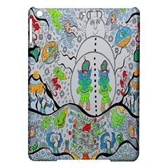 Supersonic Volcano Snowman Ipad Air Hardshell Cases by chellerayartisans
