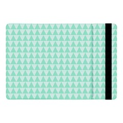 Mint Triangle Shape Pattern Apple Ipad Pro 10 5   Flip Case by picsaspassion