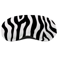 Zebra Horse Pattern Black And White Sleeping Masks by picsaspassion