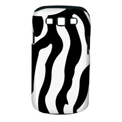 Zebra Horse Pattern Black And White Samsung Galaxy S Iii Classic Hardshell Case (pc+silicone)