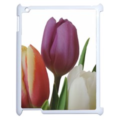 Tulips Bouquet Apple Ipad 2 Case (white) by picsaspassion