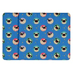 Pugs In Circles With Stars Samsung Galaxy Tab 8 9  P7300 Flip Case