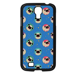 Pugs In Circles With Stars Samsung Galaxy S4 I9500/ I9505 Case (black)
