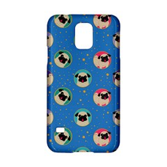 Pugs In Circles With Stars Samsung Galaxy S5 Hardshell Case