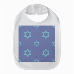 Star Christmas Night Seamlessly Bib