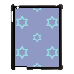 Star Christmas Night Seamlessly Apple Ipad 3/4 Case (black) by Wegoenart
