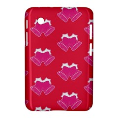 Christmas Red Pattern Reasons Samsung Galaxy Tab 2 (7 ) P3100 Hardshell Case
