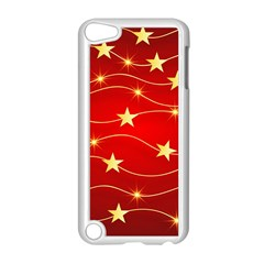 Background Christmas Decoration Apple Ipod Touch 5 Case (white)