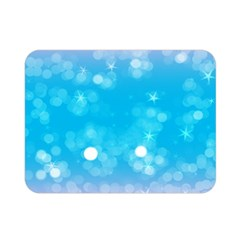 Background Abstract Christmas Snow Double Sided Flano Blanket (mini)
