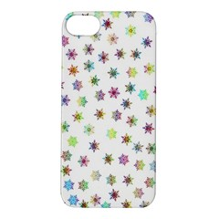 Snowflakes Snow Winter Ice Cold Apple Iphone 5s/ Se Hardshell Case