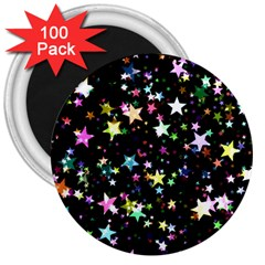 Wallpaper Star Advent Christmas 3  Magnets (100 Pack)