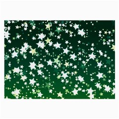 Christmas Star Advent Background Large Glasses Cloth (2 Side) by Wegoenart