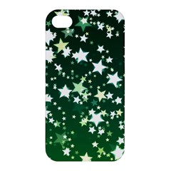 Christmas Star Advent Background Apple Iphone 4/4s Hardshell Case