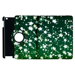 Christmas Star Advent Background Apple Ipad 2 Flip 360 Case by Wegoenart
