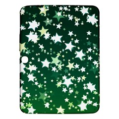 Christmas Star Advent Background Samsung Galaxy Tab 3 (10 1 ) P5200 Hardshell Case