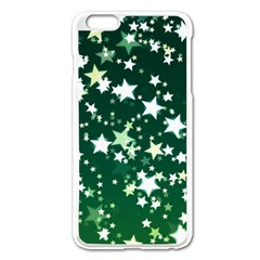 Christmas Star Advent Background Apple Iphone 6 Plus/6s Plus Enamel White Case