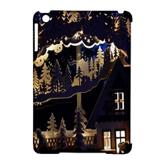 Christmas Advent Candle Arches Apple Ipad Mini Hardshell Case (compatible With Smart Cover)