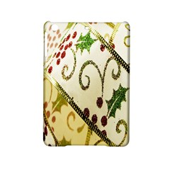 Christmas Ribbon Background Ipad Mini 2 Hardshell Cases by Wegoenart