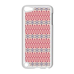 Christmas Pattern Vintage Apple Ipod Touch 5 Case (white) by Wegoenart