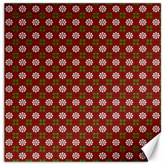 Christmas Paper Wrapping Pattern Canvas 20  X 20  by Wegoenart