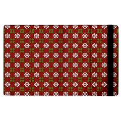 Christmas Paper Wrapping Pattern Apple Ipad 2 Flip Case