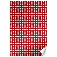 Christmas Paper Wrapping Paper Canvas 24  X 36  by Wegoenart