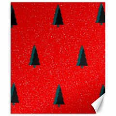 Christmas Time Fir Trees Canvas 20  X 24