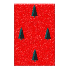 Christmas Time Fir Trees Shower Curtain 48  X 72  (small)