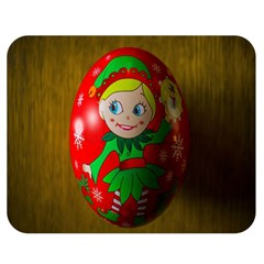 Christmas Wreath Ball Decoration Double Sided Flano Blanket (medium)