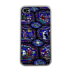 Church Window Canterbury Apple Iphone 4 Case (clear) by Wegoenart