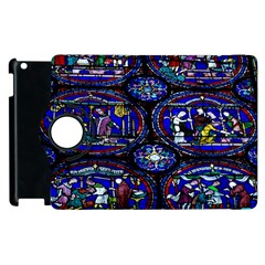Church Window Canterbury Apple Ipad 2 Flip 360 Case by Wegoenart