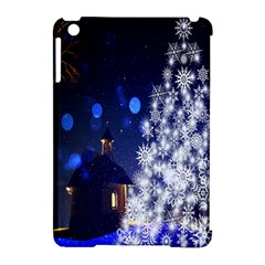 Christmas Card Christmas Atmosphere Apple Ipad Mini Hardshell Case (compatible With Smart Cover)