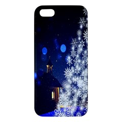 Christmas Card Christmas Atmosphere Iphone 5s/ Se Premium Hardshell Case