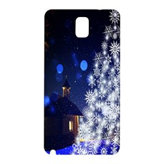 Christmas Card Christmas Atmosphere Samsung Galaxy Note 3 N9005 Hardshell Back Case