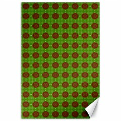 Christmas Paper Wrapping Patterns Canvas 24  X 36  by Wegoenart