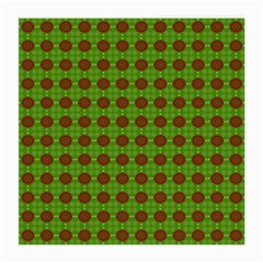 Christmas Paper Wrapping Patterns Medium Glasses Cloth
