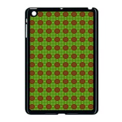 Christmas Paper Wrapping Patterns Apple Ipad Mini Case (black) by Wegoenart