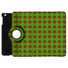 Christmas Paper Wrapping Patterns Apple Ipad Mini Flip 360 Case